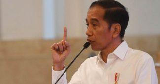 Jokowi Larang Terapkan LockDown