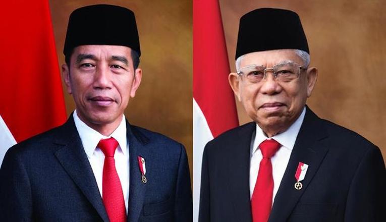 Setahun Jokowi-Ma'ruf Amin