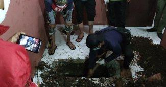 Mayat Terkubur di Toilet