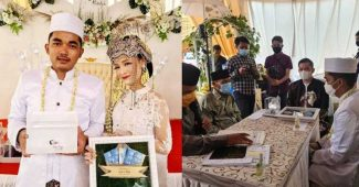 Pernikahan Unik, Pasangan Ini Menikah Dengan Mas Kawin Ikan Cupang