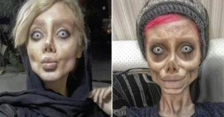 Selebgram Mirip Zombie