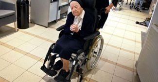 Pasien Covid-19 Tertua Di Dunia Dinyatakan Sembuh Total