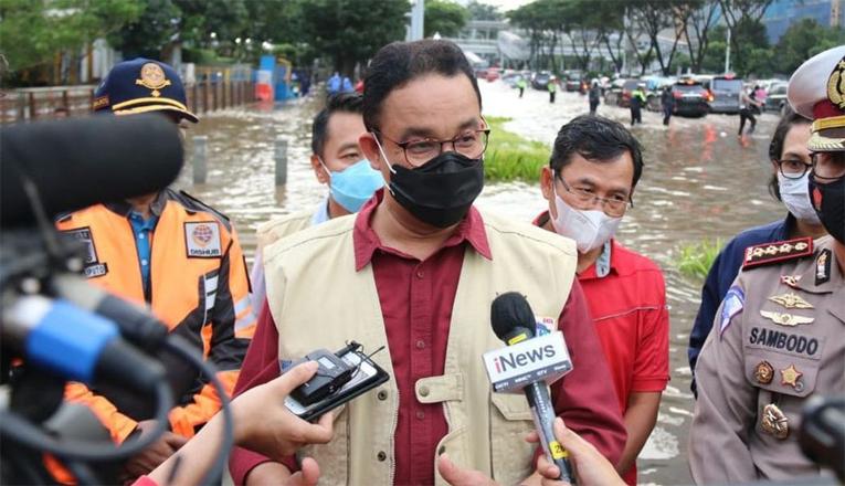 Banjir Jakarta Memakan 5 Korban Jiwa, Ini Kata Anies