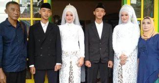 Pasangan Kembar Menikah Di Sumedang Menjadi Viral Dimedia Sosial